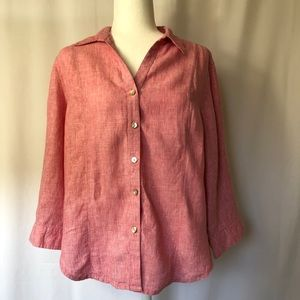 FRESH PRODUCE Athlinn 100% Linen shirt
